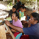 Pearl farm management and halfpearl seeding training in Pakin Atoll, Pohnpei State, February 5-7, 2104
