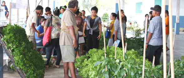 Yap CRE participated in the 2015 World Food Day Celebrations